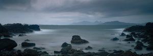 eigg and rum, long exposure, scottish landscape photgraphy, landscape photgraphy scotland, ardnamurchan