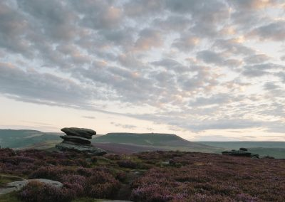 Over Owler Tor, towards Higger Tor, Peak District