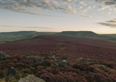 Millstone, Heather and Higger Tor, Peak District