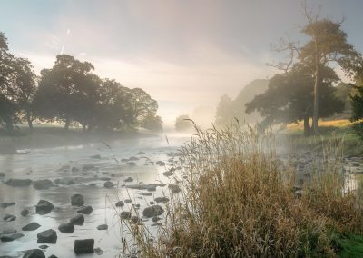 Misty River Derwent, Chatsworth Estate, Peak District