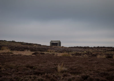 Stanage Shooting Shelter, Peak District
