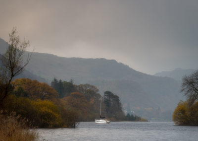 Boat, Derwent Water, Lake District, Cumbria