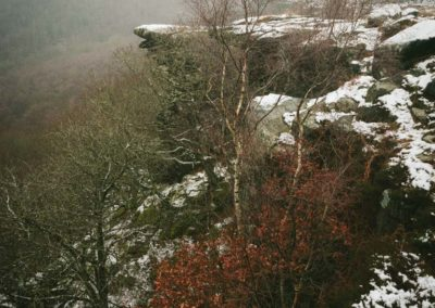 Gardoms Edge in the Snow, Peak District