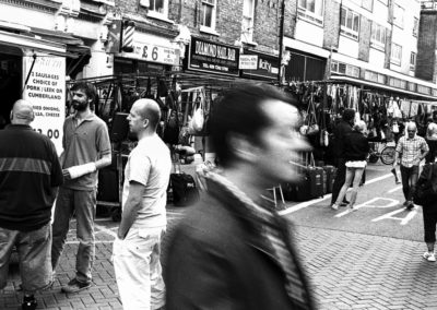 Breakfast Rolls, Leather Lane, London - Hasselblad Xpan with Ilford HP5