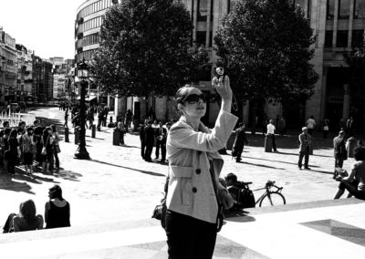 Smile, St Paul's Cathedral, London - Hasselblad Xpan with Ilford
