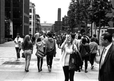 St Paul's and Photographers - Hasselblad Xpan with Ilford HP5