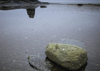Saltwick Bay and Black Nab, North Yorkshire