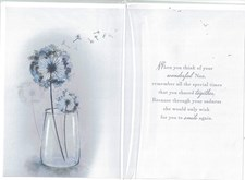 Sympathy On The Loss Of Your Nan Card  - Dandelion Clocks