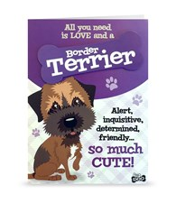Top Dog Border Terrier Greeting Card