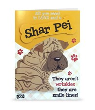 Top Dog Shar Pei Greeting Card