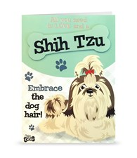 Top Dog Shih Tzu Greeting Card
