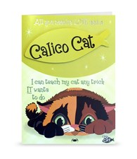 Top Cat Calico Cat Greeting Card - All You Need Is Love