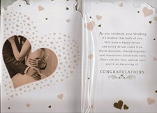 Wedding Day Card - Bride and Groom