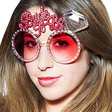 Hen Night Party Bride To Be Glasses - Ladies Fancy Dress Party