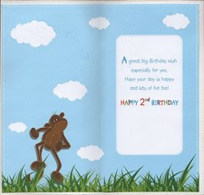 Birthday 2 Today Card - Cheeky Monkey