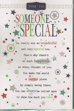 To Someone Special Happy Birthday - Pop Up Card