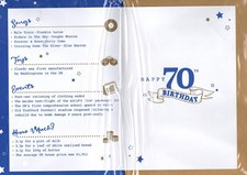 Birthday Age 70th 2019 Year Card - 1949 Was a Special Year BLUE