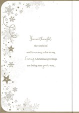 Christmas Mum Card- A Traditional Script Font With Little Illustrations