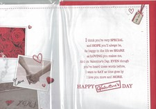Valentines Day Wife Card – Holding Hands