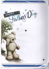 Fathers Day From Your Son Card - Cute Bear Walking