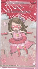 Birthday Great Granddaughter Card - Superhero
