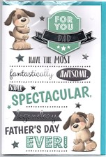 Fathers Day Legendary Card - Puppy