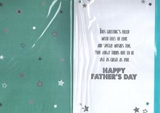 Fathers Day Dad Card - Puppies