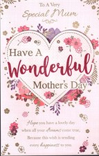 Mother's Day Card - Have A Wonderful Mother's Day