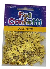 Party Gold Stars Table Confetti