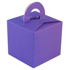 Deep Purple Favour/Gift Box – Pack of 10