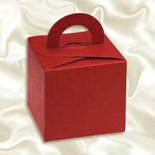 Burgundy Favour/Gift Box – Pack of 10
