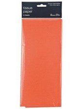 Tissue Paper Orange - Pack Of 5 Sheets