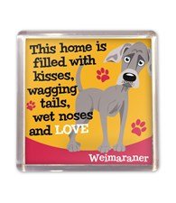 Top Dog Weimaraner Magnet