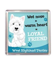 Top Dog West Highland Terrier Magnet