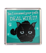 Top Cat Black Cat Magnet - Design 2