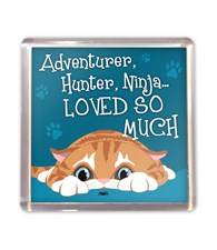 Top Cat Ginger Cat Magnet - Design 2