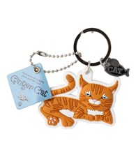 Top Cat Ginger Cat Keyring