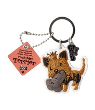 Top Dog Yorkshire Terrier Keyring