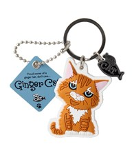 Top Cat Ginger Cat Keyring - Design 2