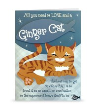 Top Cat Ginger Cat Greeting Card