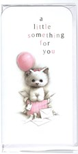 Money Wallet/ Gift Three Fold Card -  Cute Cat