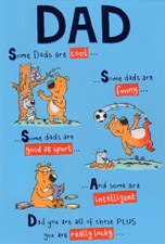 Birthday Dad Card - Bear & Hobbies