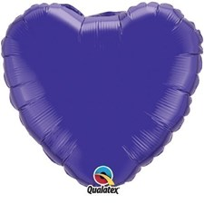 Plain Coloured Shaped Foil Balloon - As per facebook order