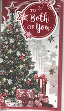 Christmas To Both Of You Card - Christmas Tree