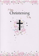 Christening Day Card - Female Card