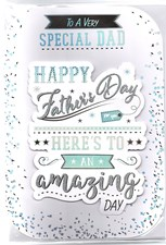 Fathers Day Special Dad Card - Traditional 3-D Design