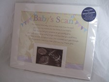 Photo Mount Baby's Scan 10 x 8