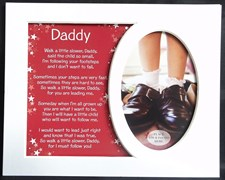 Photo Mount Daddy Message 10 x 8