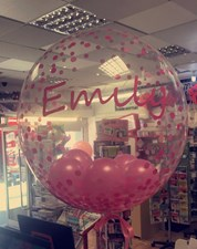 Small Personalised Decor Balloon As per facebook Message