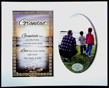 Photo Mount Grandad Message 10 x 8